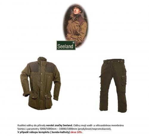 Kvalitní oděvy Seeland do přírody